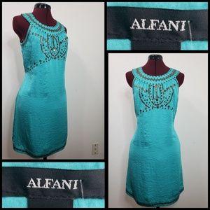 alfani woman sleeveless short dress size 2